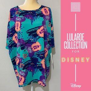 LuLaRoe Disney Irma High Low Oversized Shirt Sz M